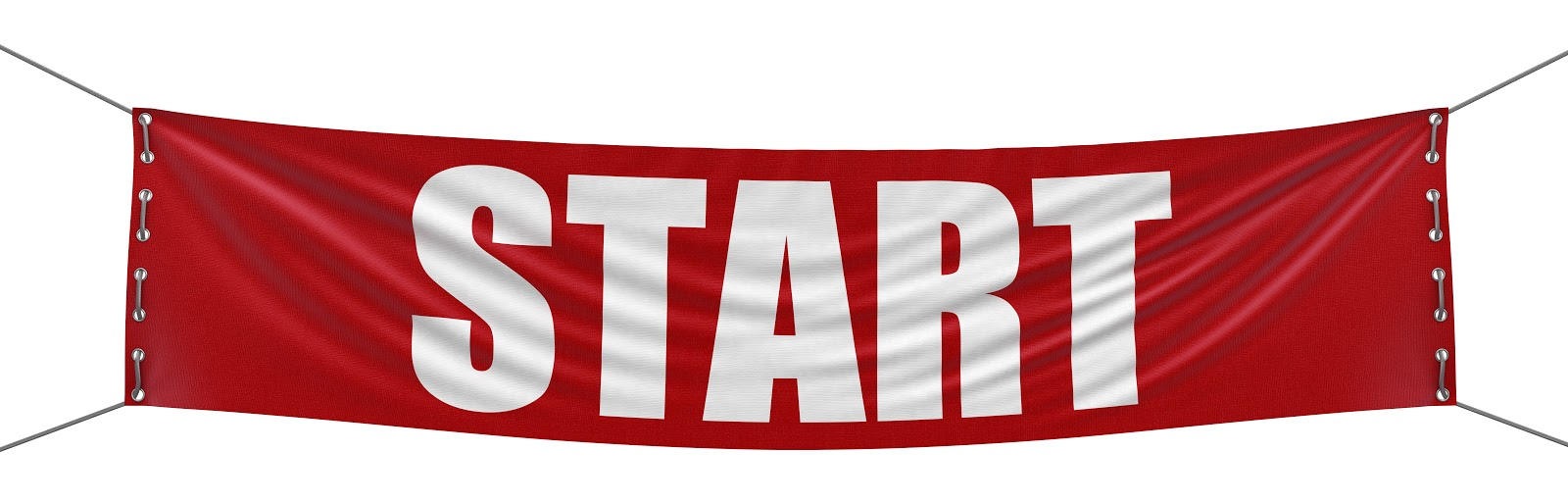 Start banner like for a run or other race