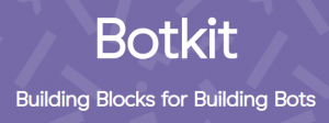 Botkit logo with tagline