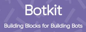 Botkit logo with tagline